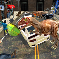 Dinosaur Attacks Game