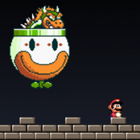 Super Mario World – Bowser Battle