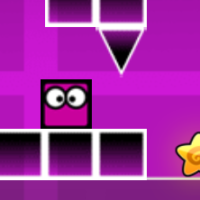 Geometry Dash Neon World