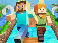 Minecraft Endless Runner Online
