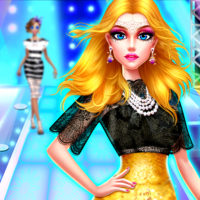 Supermodel Makeover Glam Dress up Make up