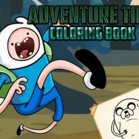 Adventure Time Coloring Book