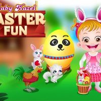 Baby Hazel Easter Fun