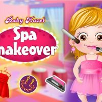 Baby Hazel Spa Makeover