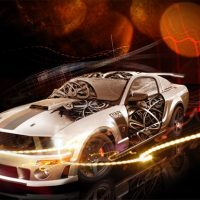 Cool Cars Jigsaw Puzzle