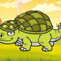 Ice Age Funny Dinosaurs Coloring