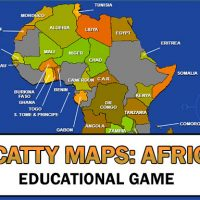 Scatty Maps Africa