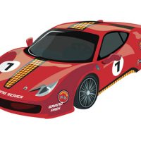 Sport Cars Coloring
