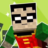 teen titans go minecraft teenage runner 3d
